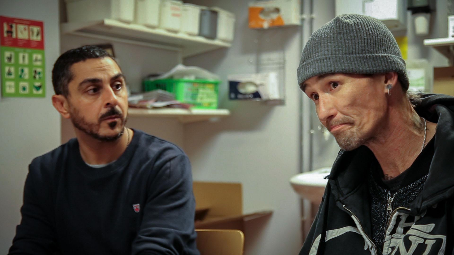 Ensi viikon jaksossa Arman Alizad tutustuu päihderiippuvaisten arkeen.