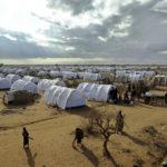 ◼Dadaadin pakolaisleiri Keniassa lähellä Somalian rajaa heinäkuussa 2011.