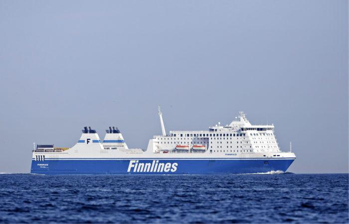 ◼Finnlines-varustamon rahtialus Finnmaid Helsingin edustalla  23. heinäkuuta 2014.