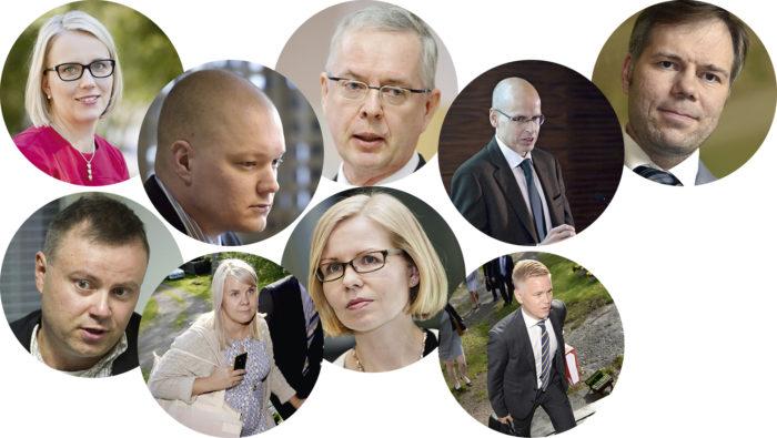 ◼Riina Nevamäki, Samuli Virtanen, Hannu Mäkinen, Martti Hetemäki, Juha Majanen, Laura Åvall, Terhi Järvikare, Markus Lahtinen, Joonas Turunen