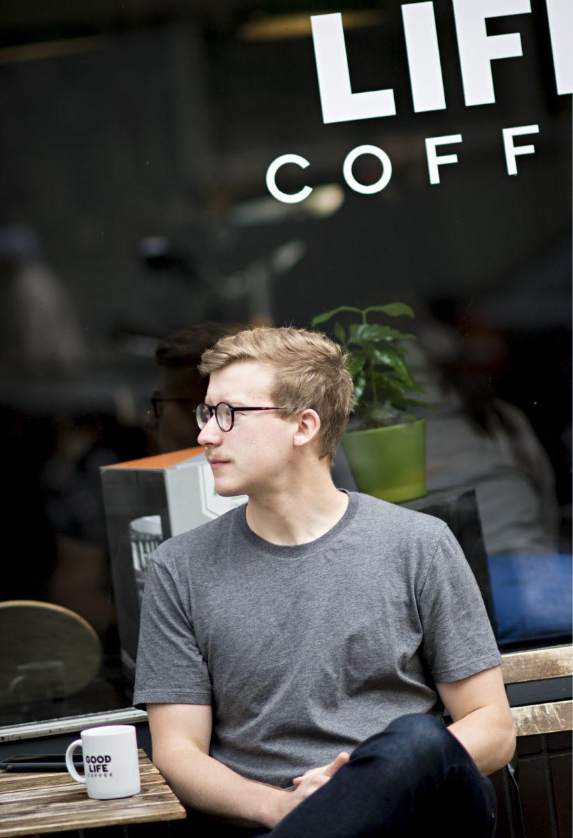 ◼Kalle Freesen liikeidea lähti itsekeskeisestä ajatuksesta  valmistaa itselle parempaa  kahvia.