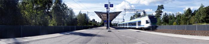 ◼Huumausainekauppoja  järjesteltiin muun muassa  espoolaisella junaseisakkeella.