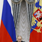 ◼Vladimir Putin Kremlissä 9. joulukuuta 2015.