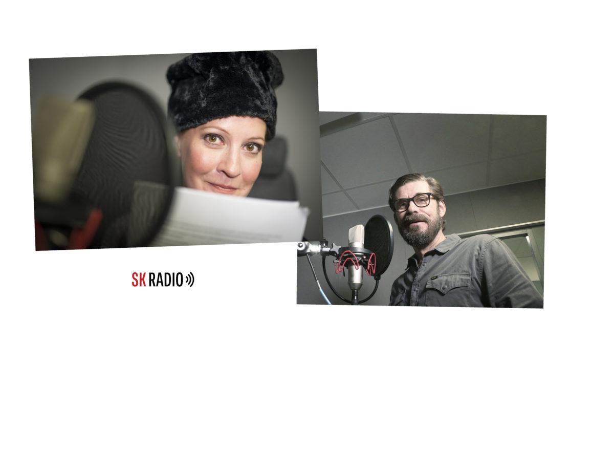 ◼Näyttelijät Vuokko Hovatta ja Tommi  Korpela ovat SK:n  podcast-äänet.