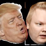 ◼Kurvinen ja Trump. Kaksi marjaa.