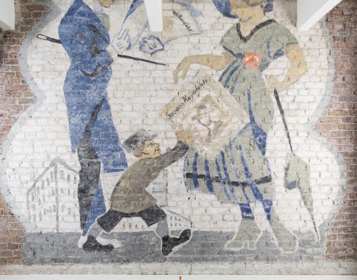 ◼SK:n mainos löytyi Helsingin Uudenmaankadulta.