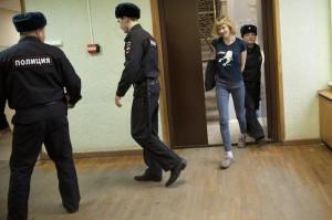 Sini Saarela Detention Hearing In St. Petersburg.