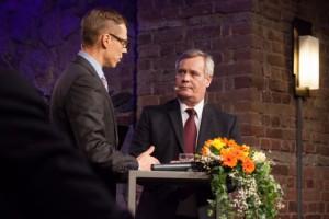 Pääministeri Stubb ja valitovarainministeri Rinne