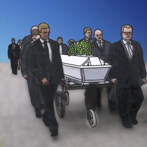 hautajaiset_arkkua_kuljetetaan