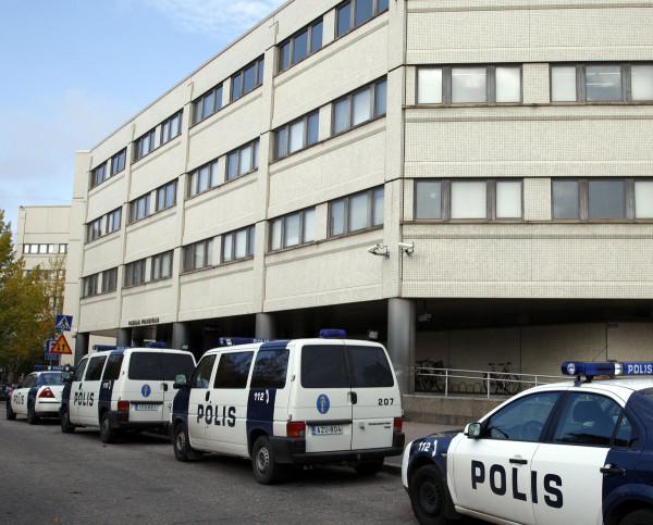 Pasilan poliisitalo Helsingissä.