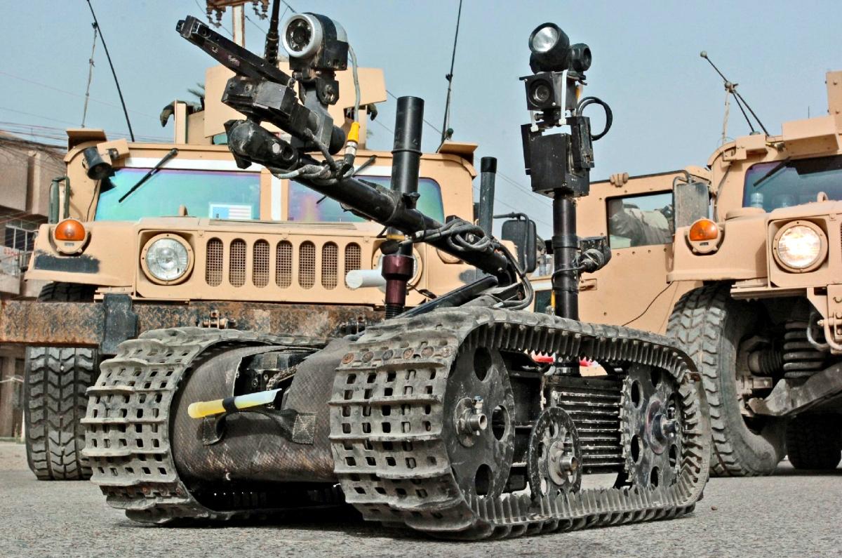 Yhdysvaltain käyttämän TALON-robotin aseistettu versio ei ole vielä saanut lupaa käydä taisteluja.