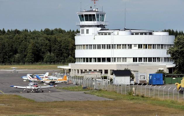 Malmin lentokenttää elokuussa 2013.