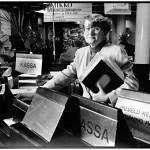 Kaarina Tuomiaro oli Skopin luottamusmies. Hän piti 2000-luvun alussa ääntä pankin yhtiökokouksissa. Kuva vuodelta 1991.