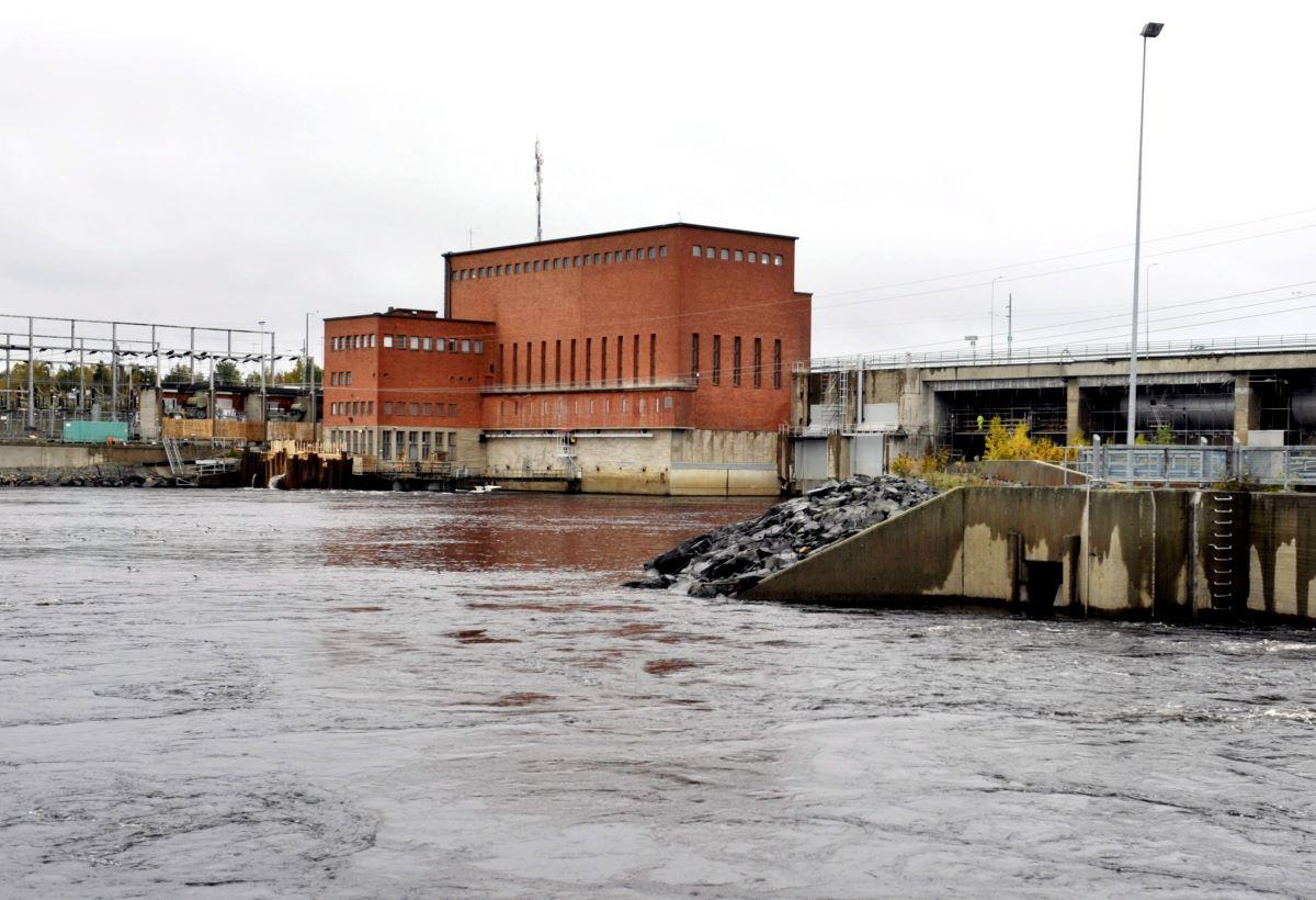 Pohjolan Voiman Isohaaran voimalaitos. Kuva Kimmo Mäntylä / Lehtikuva