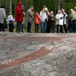 Belomorskin lähellä on yli 2000 kalliopiirrosta.