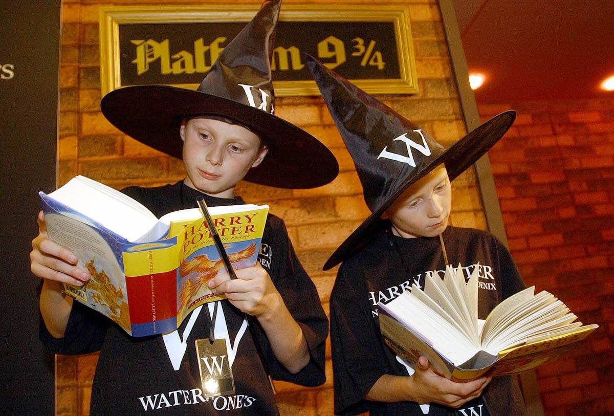 Harry Potterin lukijoita