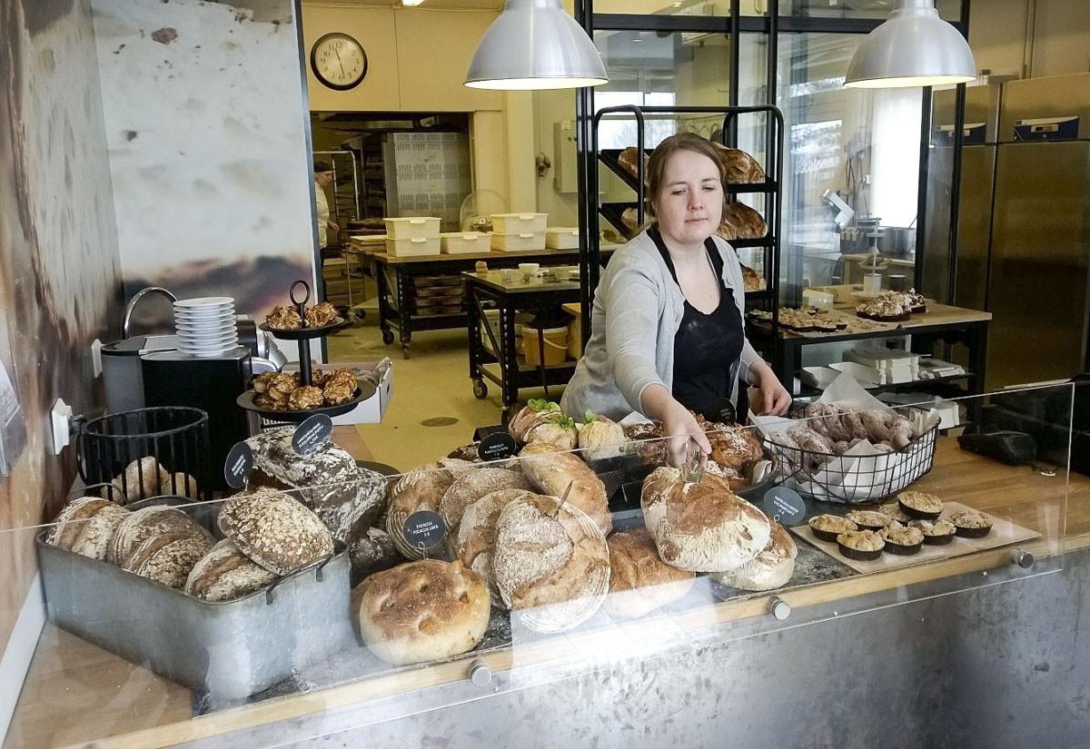 Aroma valittiin viime vuonna Suomen parhaaksi leipomoksi.
