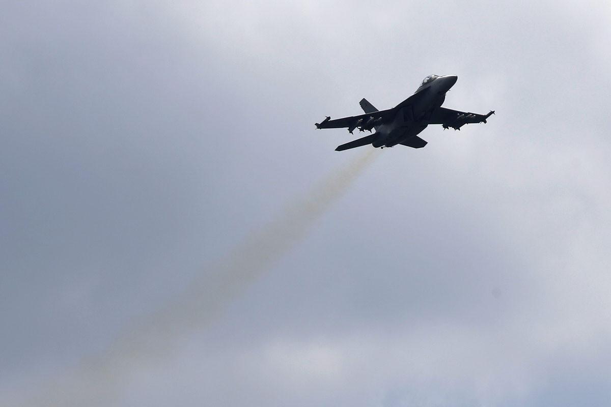 Boeing Super Hornet on yksi ehdokas Suomen tulevaksi monitoimihävittäjäksi.