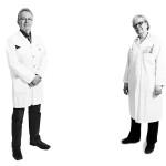 Apteekkari Markku Knuutila ja professori Eija Kalso.