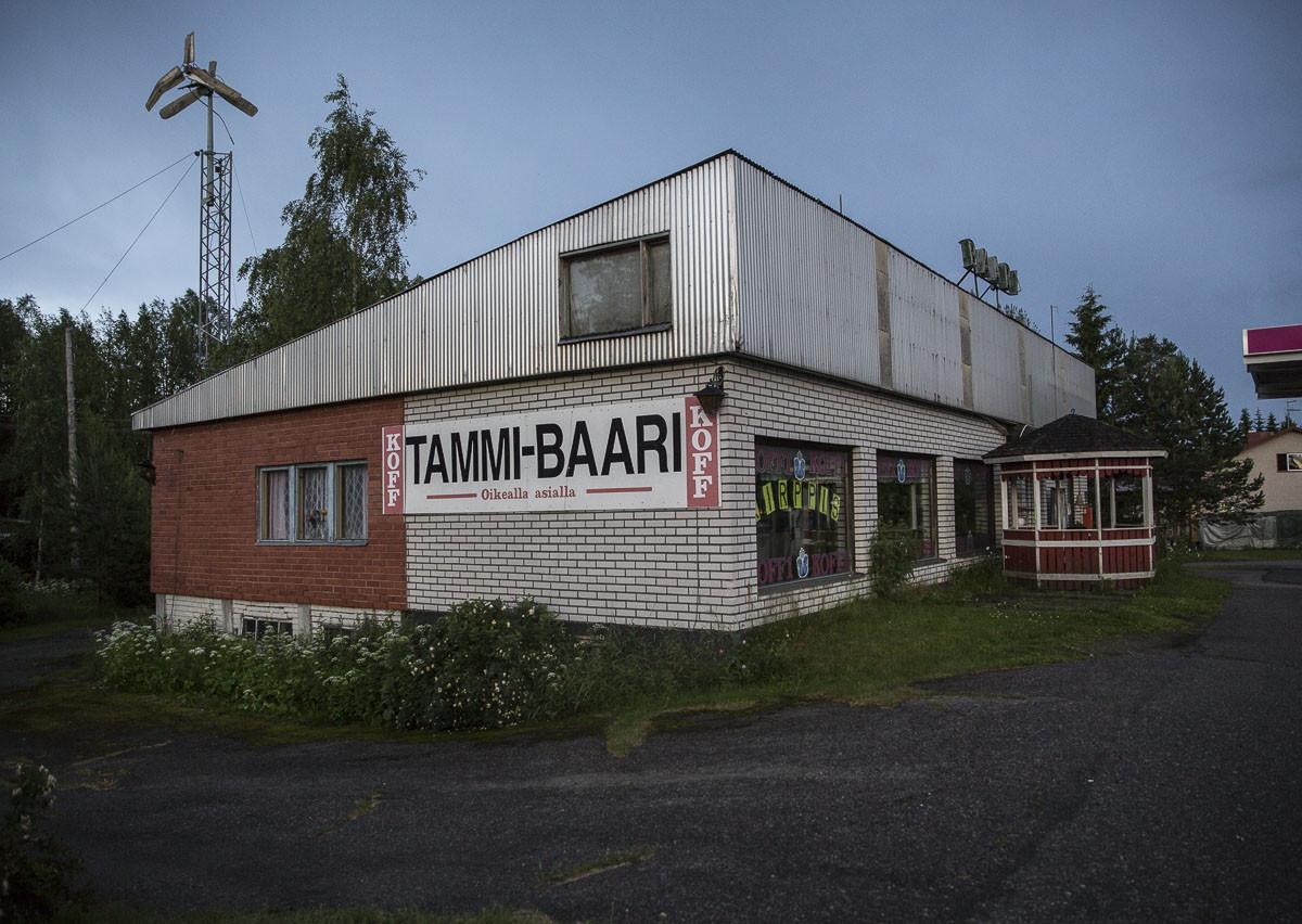 Tammi-Baari Joutsan Tammihaarassa.