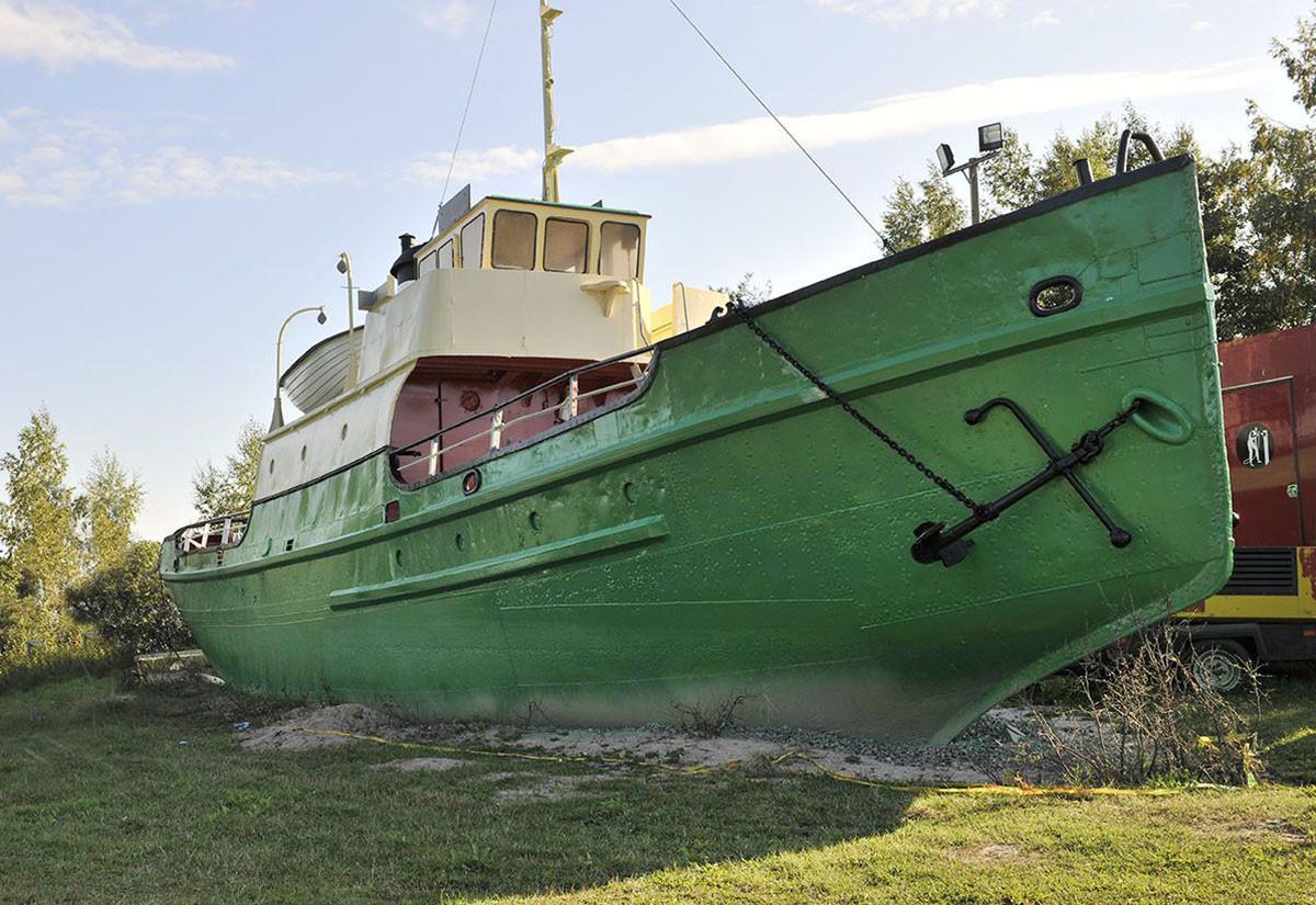 Porin salattu matkailuässä – Höyryalus Santtu oli Venäjän rannikkotykistön käytössä ...