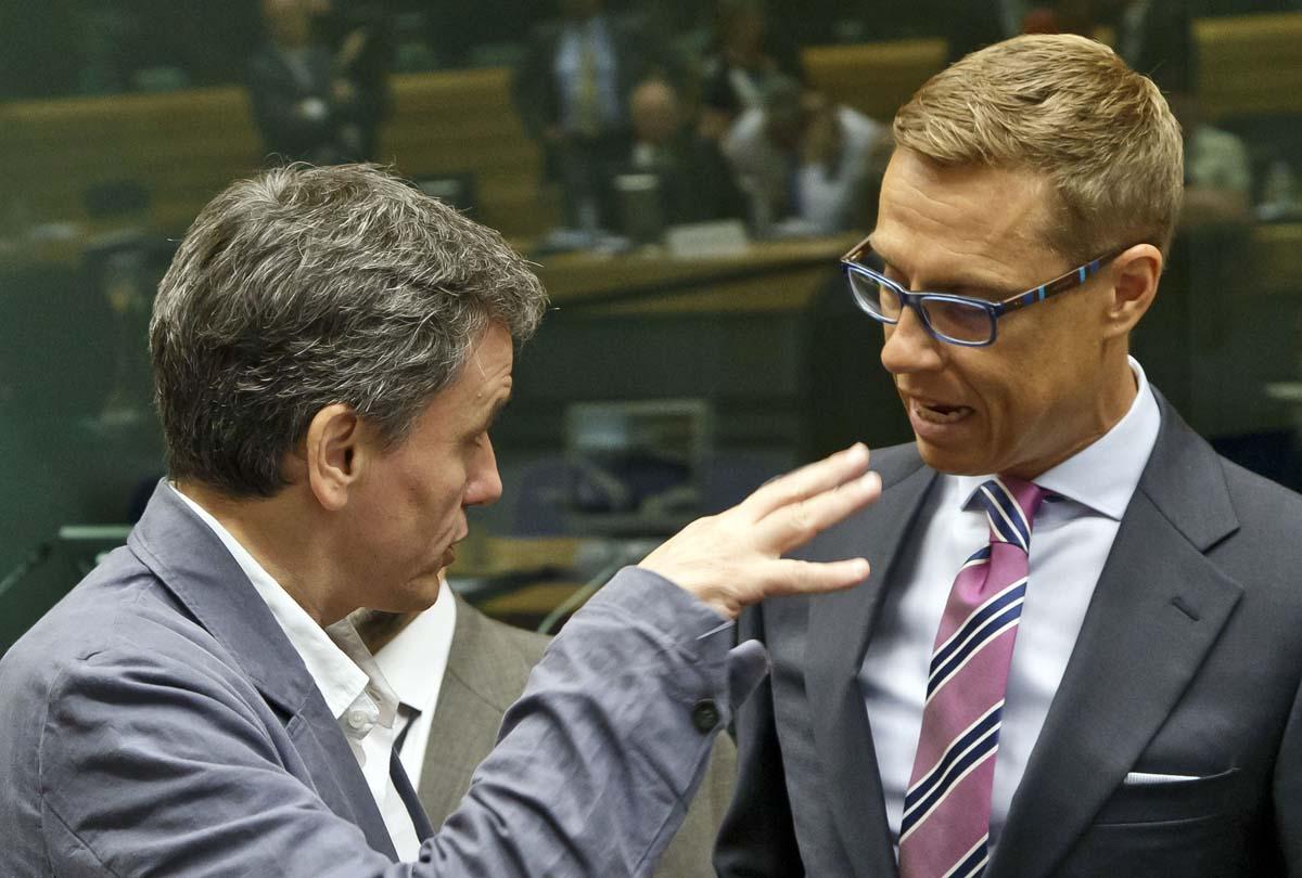 Euroryhmän kokous.