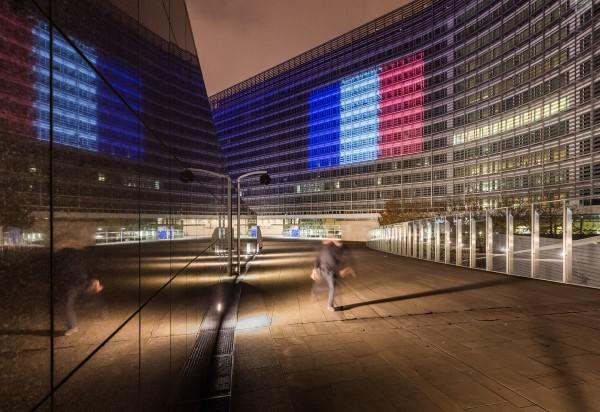 EU-komission rakennuksia Brysselissä Belgiassa 15. marraskuuta 2015.