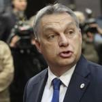 Unkarin pääministeri Viktor Orbán saapui EU-huippukokoukseen Brysseliin 18. joulukuuta 2015.