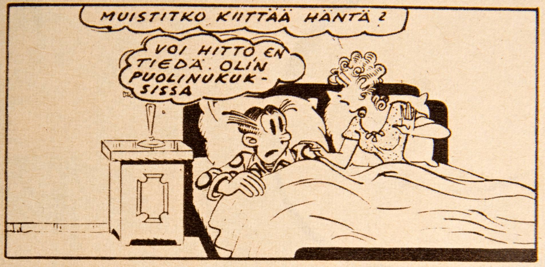 Heikkisten aviovuode esiteltiin SK:ssa 7/1956.