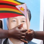 Kiinan presidenttiä odotettiin vierailulle Harareen Zimbabween 1. joulukuuta 2015.