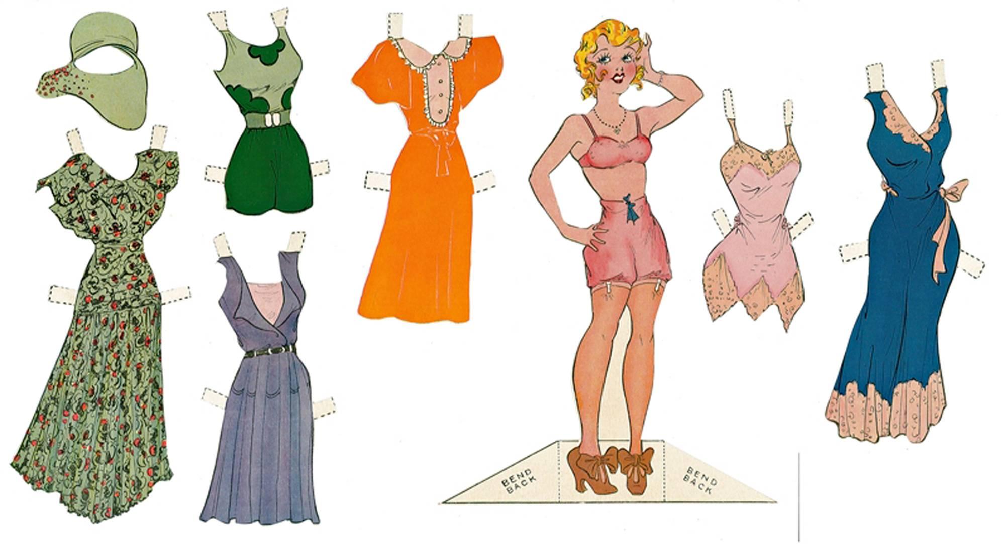 Sarjakuvan mainoskampanjassa vuonna 1930 käytettiin Blondien eli Helmin kaikki avut.