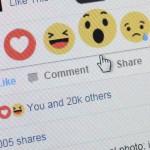 Facebookin uusi tykkäysnappitoiminto.
