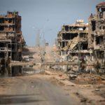 Sirten kaupunki Libyassa on Isisin hallussa. Kuva lokakuulta 2011.