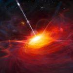 Mustan aukon ruokkima kvasaari ULAS J1120+0641.