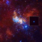 Sagittarius A* -mustasta aukosta yritetään ottaa kuvaa radioteleskoopilla.