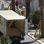 Tappajan käyttämä kuorma-auto Nizzassa 15. heinäkuuta 2016.