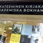 Akateeminen Kirjakauppa Helsingissä.