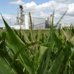 Maissietanolia valmistava tehdas Nevadassa Yhdysvalloissa.