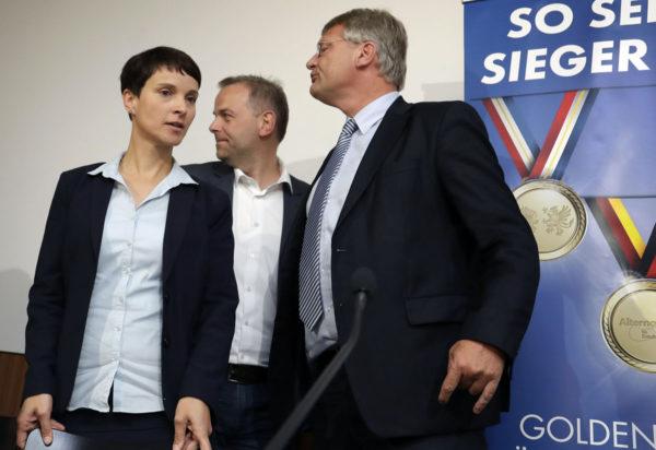 Vaihtoehto Saksalle -puolueen johtohenkilöitä.