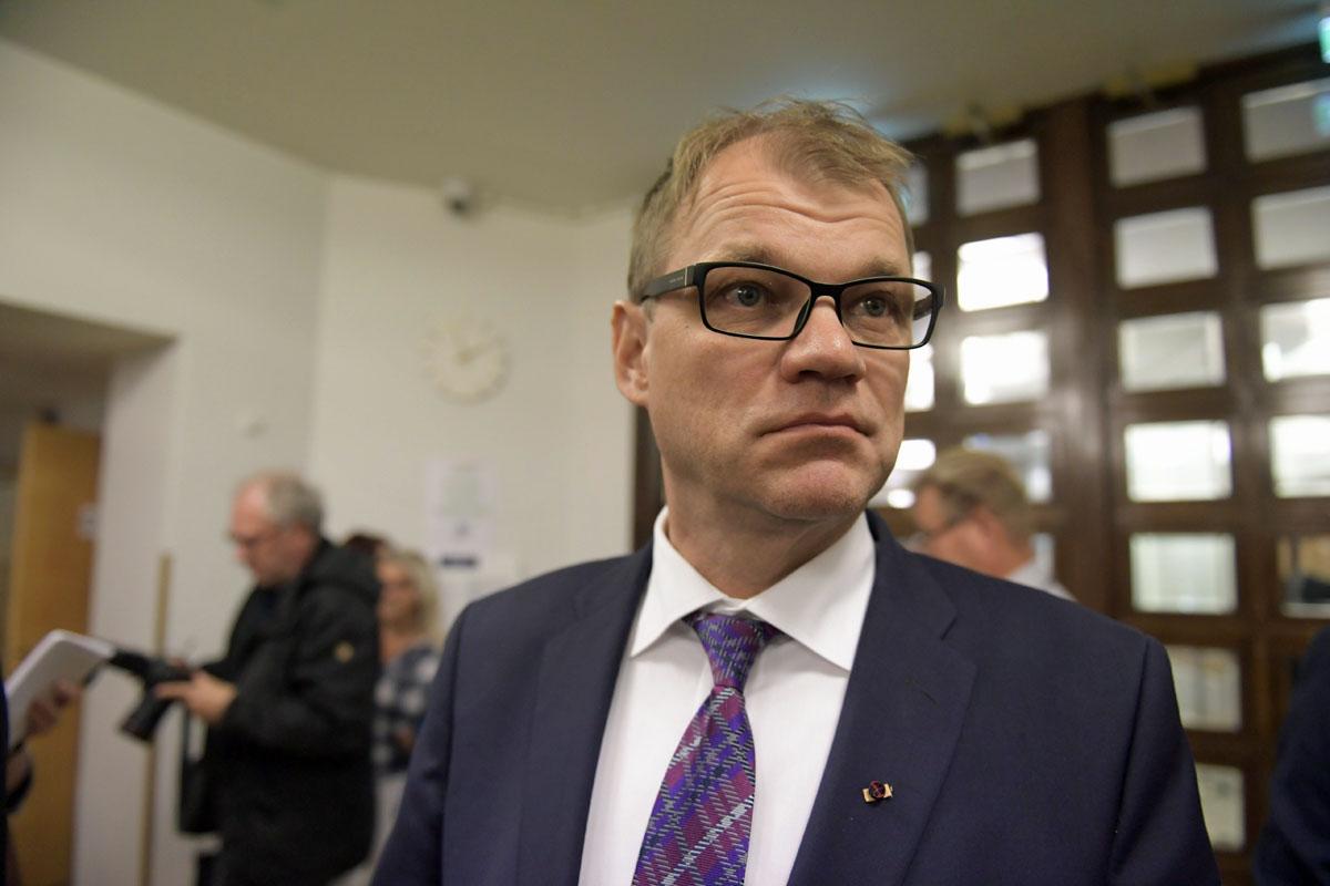 Pääministeri Juha Sipilä (kesk).