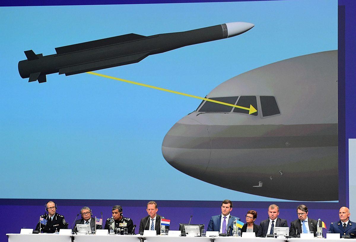 Kansainvälinen tutkijaryhmä julkisti väliraportin MH17-tuhosta Nieuwegeinissa Hollannissa 28. syyskuuta 2016.