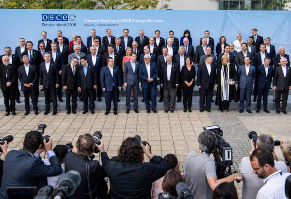 Etyjin epävirallinen ulkoministerien ja valtuuskuntien johtajien tapaaminen pidettiin Potsdamissa Saksassa 1. syyskuuta 2016.