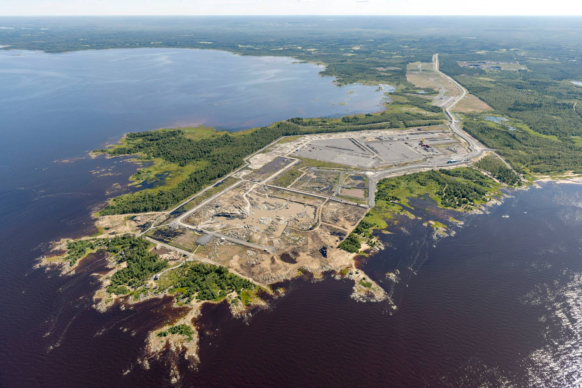 Pyhäjoen Hanhikiven niemelle nousee ydinvoimala.