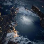 Italian eteläkärkeä ISS-avaruusasemalta kuvattuna.