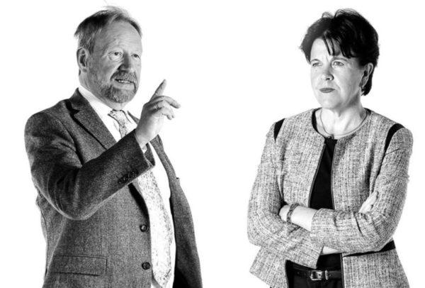 Markku Kivinen, Aleksanteri-instituutti, ja Teija Tiilikainen, Ulkopoliittinen insituutti.