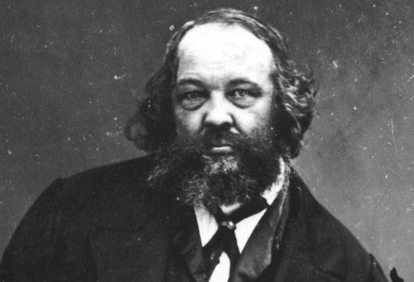Mihail Bakunin (1814–1876) Félix Nadarin muotokuvassa.