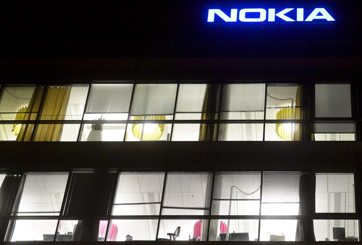Nokian pääkonttori Espoossa 14. marraskuuta 2014.
