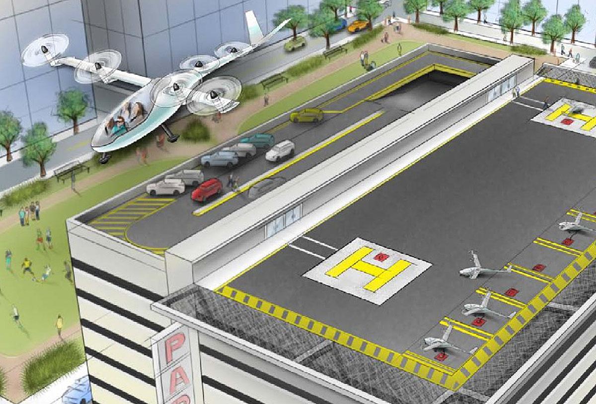 Uber visioi tulevaisuutta ja lentotakseja suunnitelmassaan, joka julkaistiin 27. lokakuuta 2016.