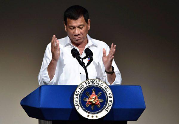 Rodrigo Duterte, 71, valittiin Filippiinien presidentiksi toukokuussa 2016.