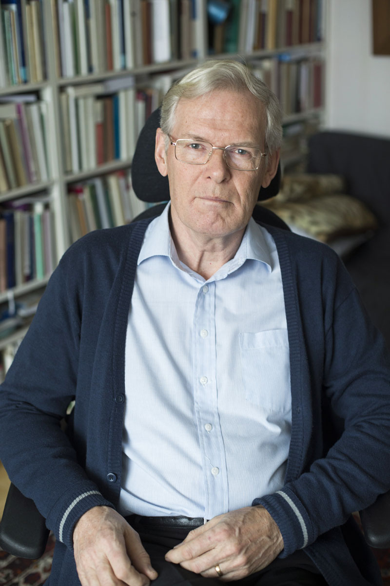 Professori Pekka Viljanen.